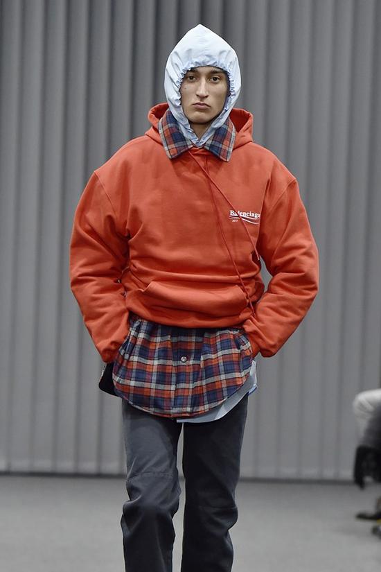 Balenciaga Fall 2017 Bernie Sanders Collection hoodie