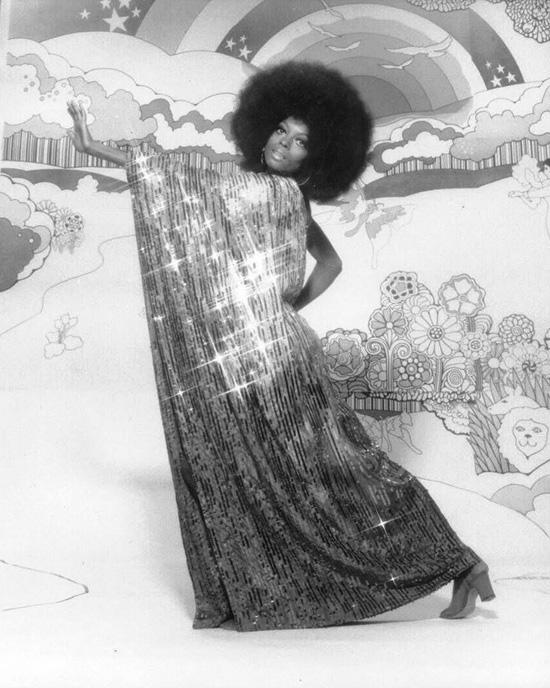 Diana Ross afro fabulous