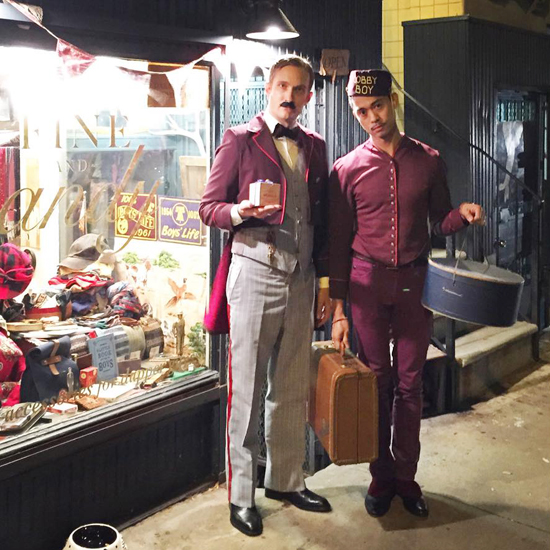 Fine and Dandy shop Grand Budapest Hotel Halloween