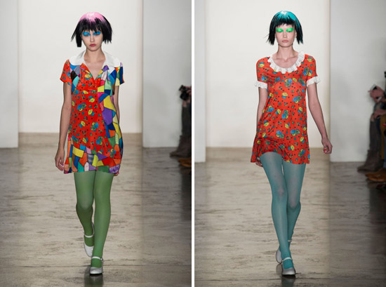 Jeremy Scott Fall 2015 Ready-to-Wear Dolly Pattern 1
