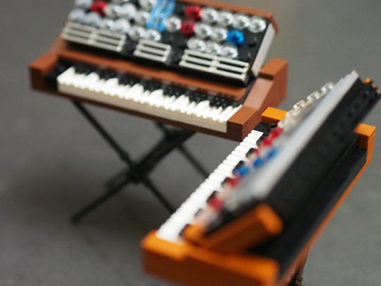 LEGO Minimoog Synthesizers