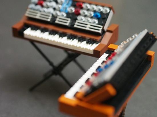 LEGO Minimoog Synthesizers