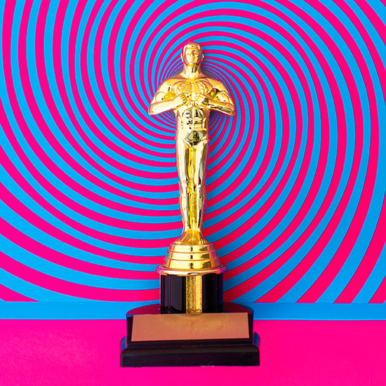 Oscar statue meets the Black Keys