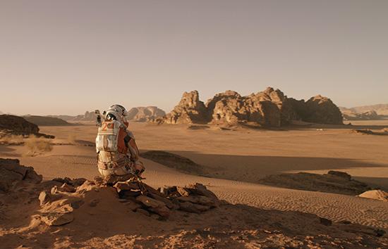 Martian movie Matt Damon