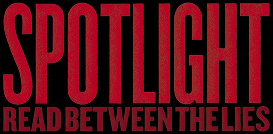 Spotlight film poster