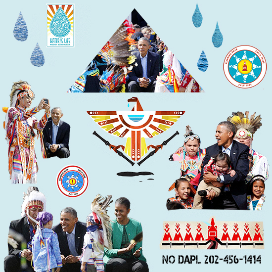 Obama NODAPL water is life