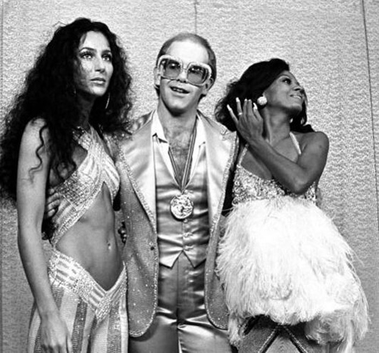 Elton John Cher Diana Ros Studio 54