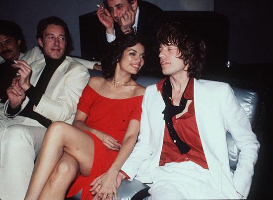 Halston Bianca Jagger Mick Jagger Studio 54 style