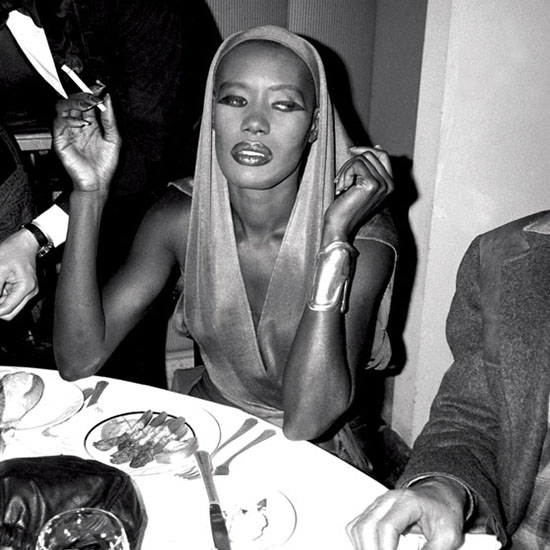 Grace Jones Studio 54 style