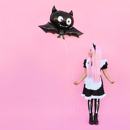 Whorange Pastel Goth Pink hair kawaii