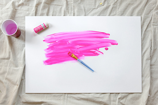 How to make a protest sign painting