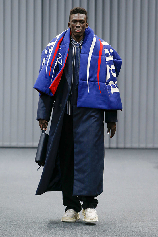 Balenciaga Fall 2017 Bernie Sanders Collection