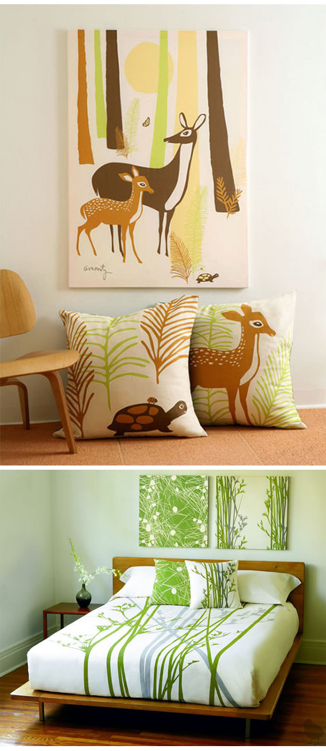 Amenity_deer_pillows_wall_art_3