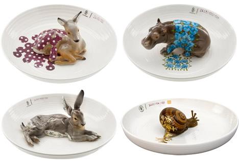 Hella_jongerius_animal_plates